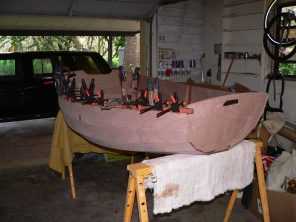 building my dinghy